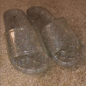 Sparkly slides